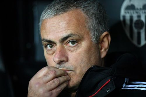 Jose Mourinho credit: getty images