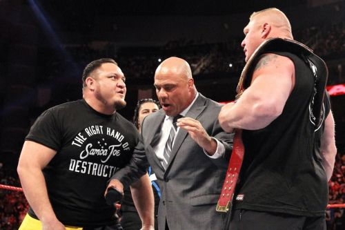 The feud with Brock didn't do Joe any favours