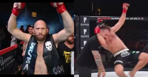 What's Stone Cold doing in a Bellator cage?