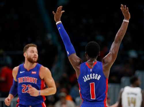 The Pistons showed that they trust in Jackson by not trading him before the deadline
