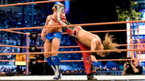 Flair had his last match in WWE against Shawn Michaels at WrestleMania 24 in 2008.