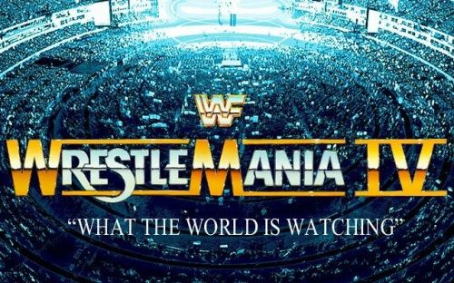 WrestleMania 4 was built around the tournament for the vacant WWF Title.