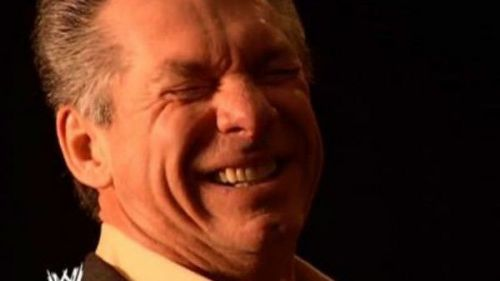 Image result for vince mcmahon laughing