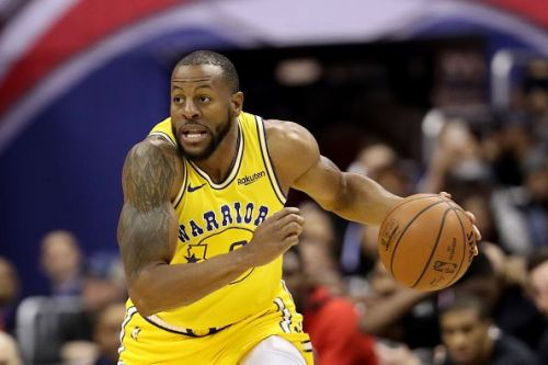 Iguodala still plays for the Warriors and is in his sixth season