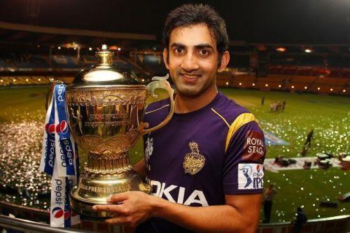 Gambhir won two IPLs with KKR