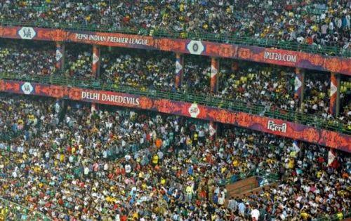 Delhi capitals home crowd