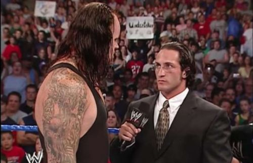Ciampa was chokeslammed by The Undertaker back in 2005