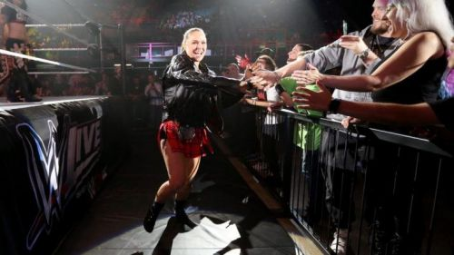 WWE RAW Women's Champion 'Rowdy' Ronda Rousey is reportedly exempt from this rule