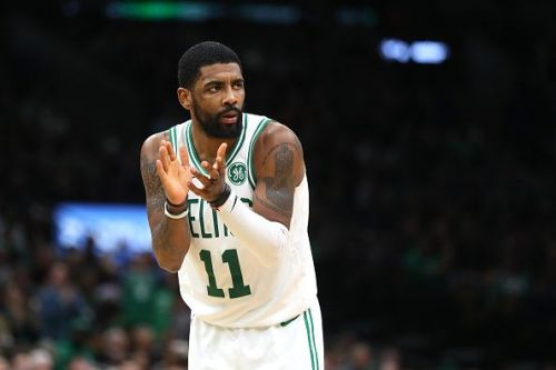 Irving had 31 points, 12 assists, and 10 rebounds