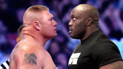 bobby lashley vs brock