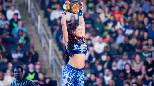 Melina is a five-time Champion