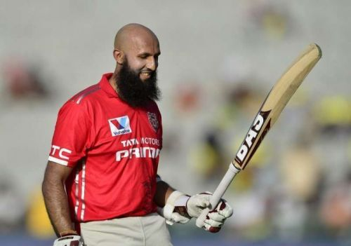 Hashim Amla played for Kings XI Punjab in the IPL