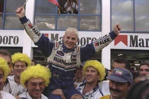 Jacques Villeneuve won Williams