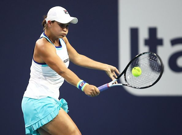 Barty has troubled big names with her unorthodox slice-heavy game in the past and would look to do the same in tonight