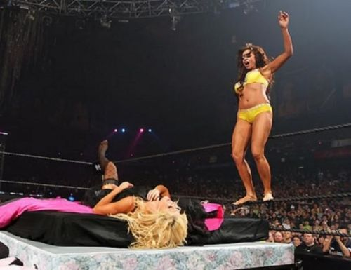 WrestleMania 22 was a terrible match for women's wrestling.