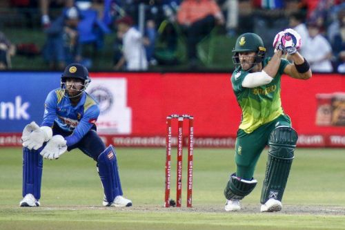 Faf du Plessis has led his team from the front in this ODI series
