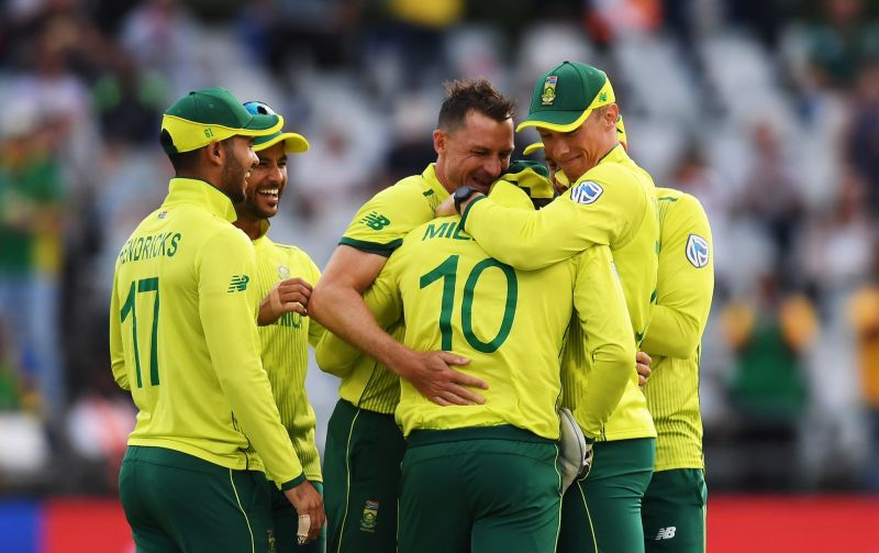 South Africa team