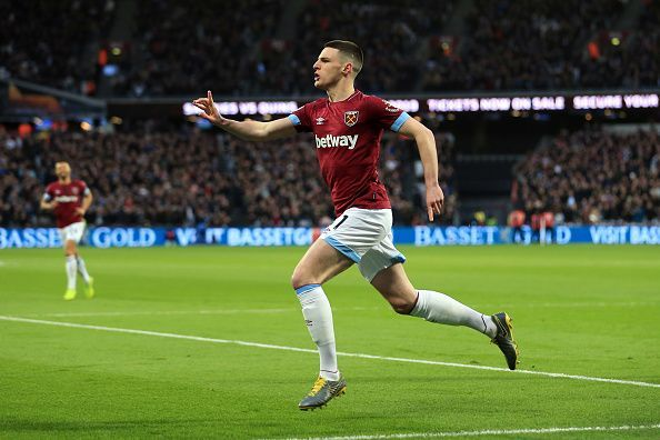 Declan Rice has switched allegiance from Ireland to England - and could find himself in Gareth Southgate