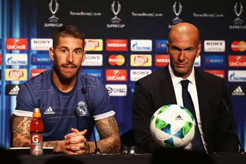 Zidane was reappointed as Real Madrid boss earlier this week