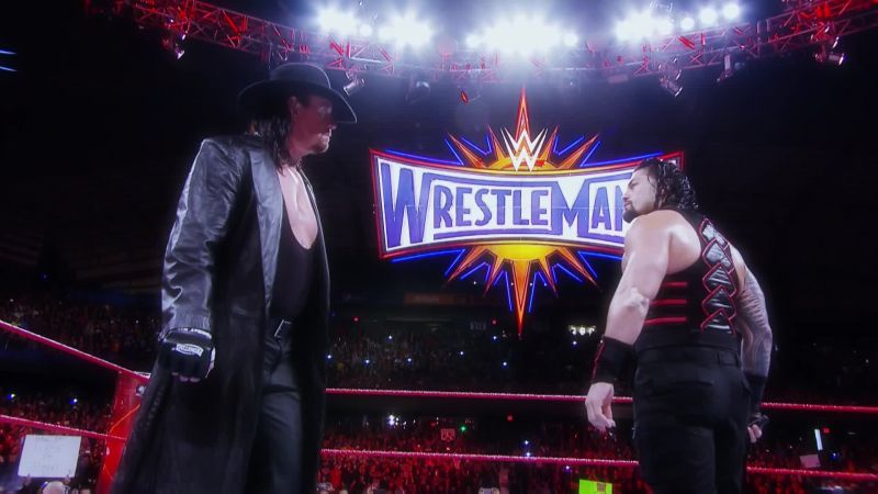 The Undertaker vs. Roman Reigns was a disappointment with one particularly ugly spot.
