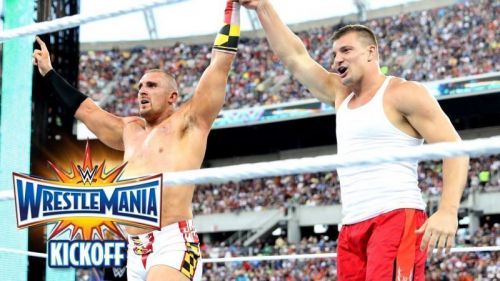 Could it be Rob Gronkowski's turn to win the Andre The Giant Memorial Battle Royale?