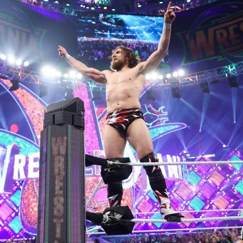 Daniel Bryan at Wrestlemania 34
