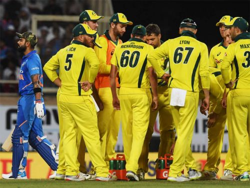 Virat Kohli's 123 went in vain as Australia won the 3rd ODI by 32 runs