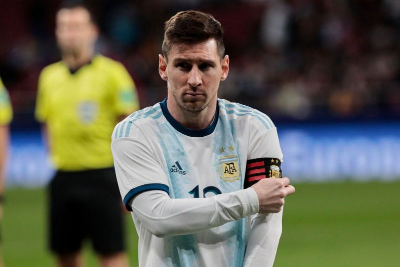 Messi and Argentina lost 3-1 to Venezuela