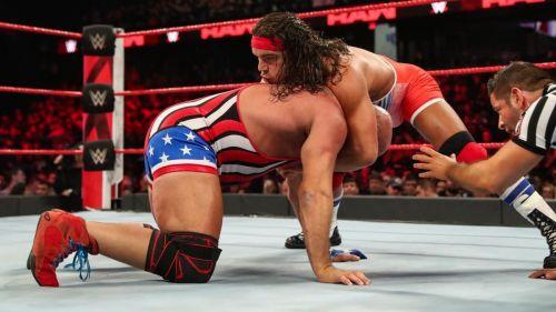 Chad Gable and Kurt Angle had a pretty cool match