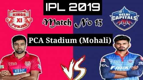 Kings XI Punjab and Delhi Capitals will clash in the thirteenth fixture of IPL 2019