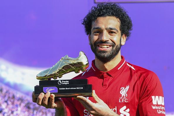 Mohamed Salah won the Premier League Golden Boot last season.