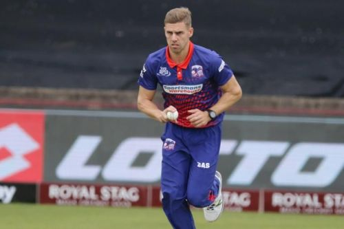 South African seamer Anrich Nortje is the latest to be ruled out for KKR