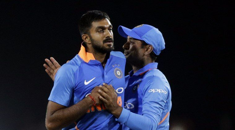 Vijay Shankar held his nerves to bowl a brilliant last over. V