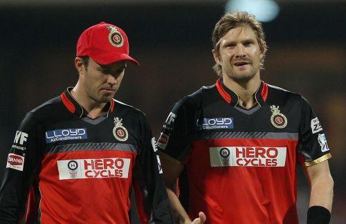 AB De Villiers and Shane Watson