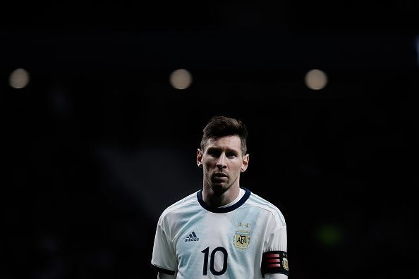 Lionel Messi will not be playing against Morrocco