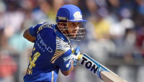 Lendl Simmons of MI is the sole centurion in KXIP vs MI matches played at Mohali.