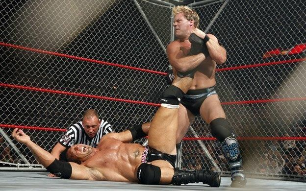 The Animal Batista was fined US$100,000 after a steel cage match with Chris Jericho went wrong