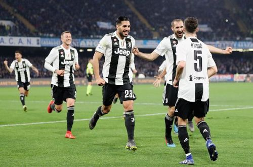 Pjanic and Can scored for Juventus in the first half