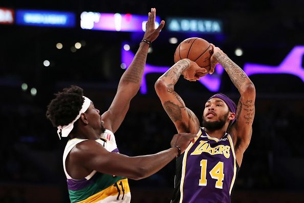 Los Angeles Lakers seem to be getting the best of Ingram lately
