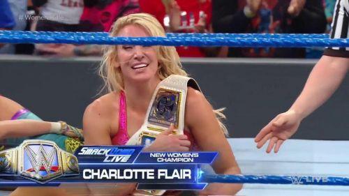 Charlotte Flair shocked the WWE Universe last night