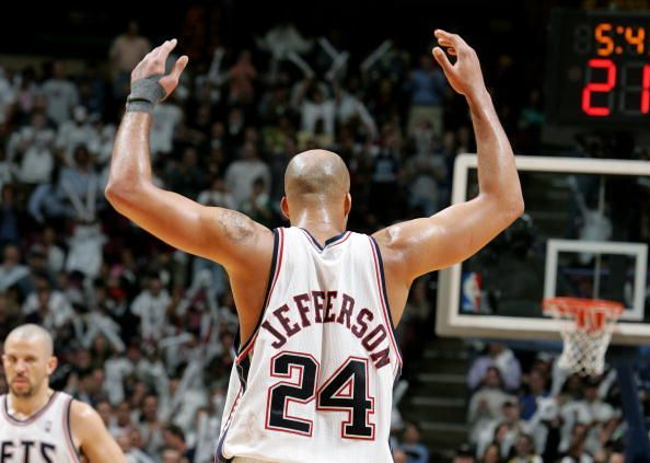Richard Jefferson played a huge part in the Nets
