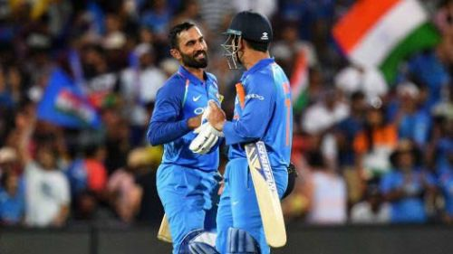 Dinesh Karthik and MS Dhoni are two of India's best keepers