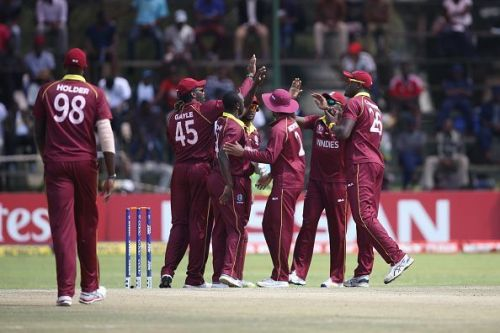 West Indies are currently ranked at No.8 in the ICC ODI Team Rankings