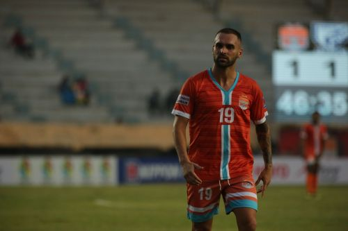 Manzi scored four hat-tricks in the I-League so far