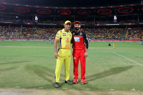 CSK and RCB will face other in the very first match of the season