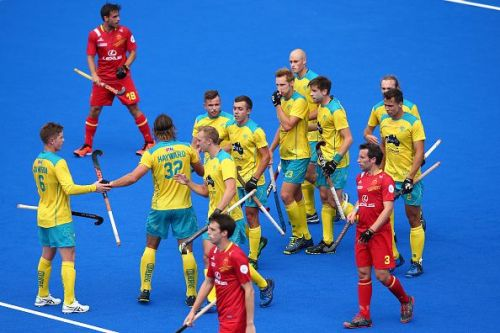 Australia beat Spain to win three in a row at Sydney