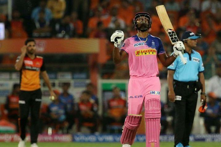 Samson scored his second IPL century last night