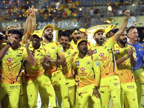 Defending champions, Chennai Super Kings