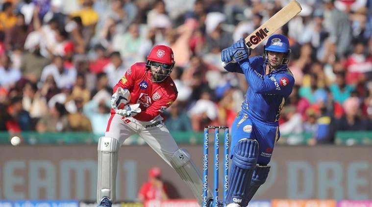 KXIP vs Mumbai Indians, Photo Courtesy IPLT20/BCCI