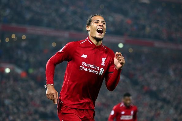 Virgil van Dijk is among the leading contenders to win the PFA Player of the season award this term